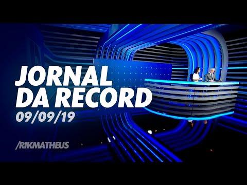 Início e fim do novo  'Jornal da Record'   09/09/19
