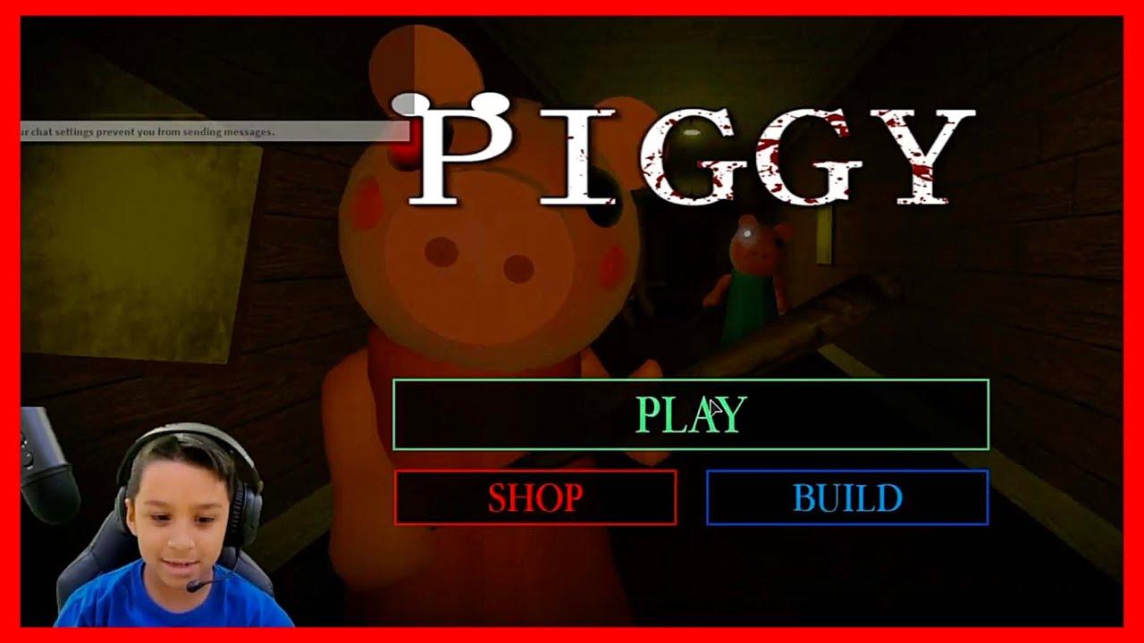 Deion Plays PIGGY on ROBLOX   Deion's Playtime