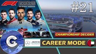 Let's Play F1 2018 Career Mode   Mercedes Career #21   SEASON 1 CHAMPIONSHIP DECIDER!