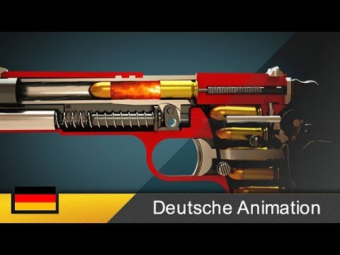 funktionsweise einer waffe colt m1911 animation youtube