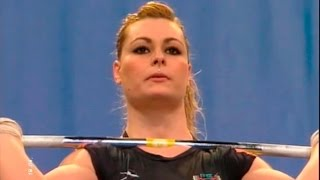 2007 European Weightlifting Championships, Women 75 kg \ Тяжелая Атлетика. Чемпионат Европы