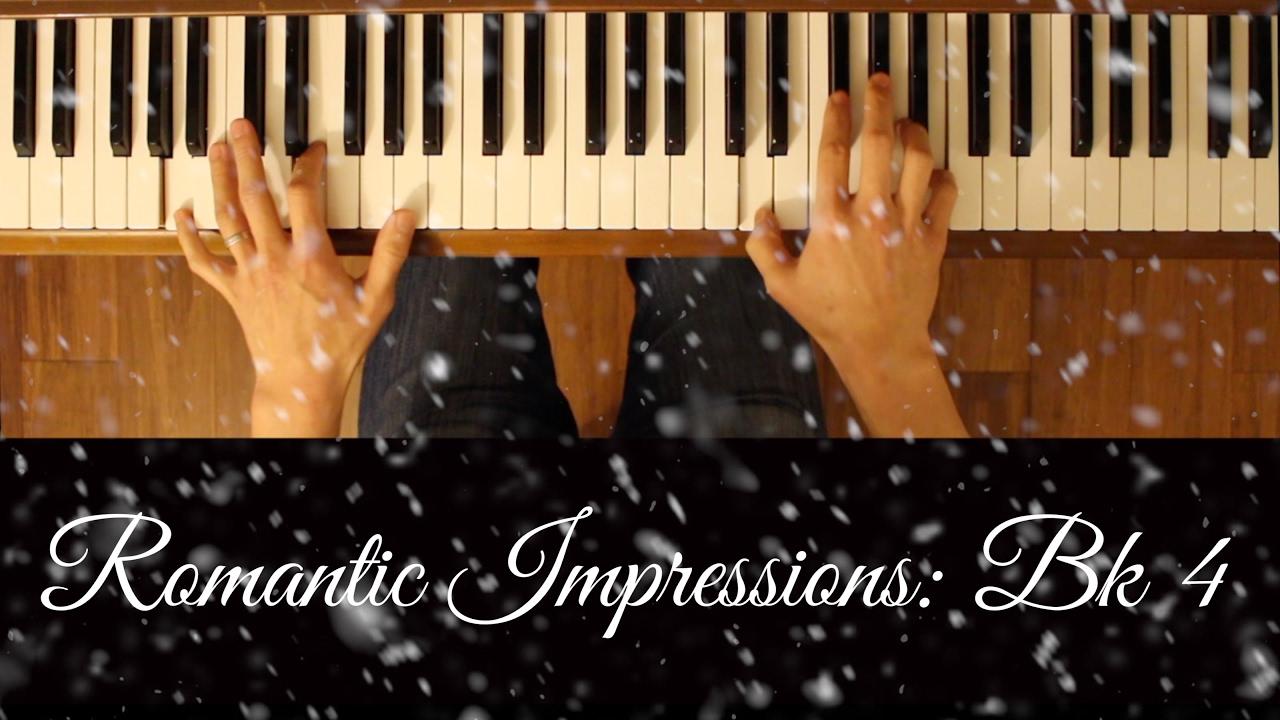 Shadows Of Regret Romantic Impressions Bk 4 Intermediate Piano Tutorial