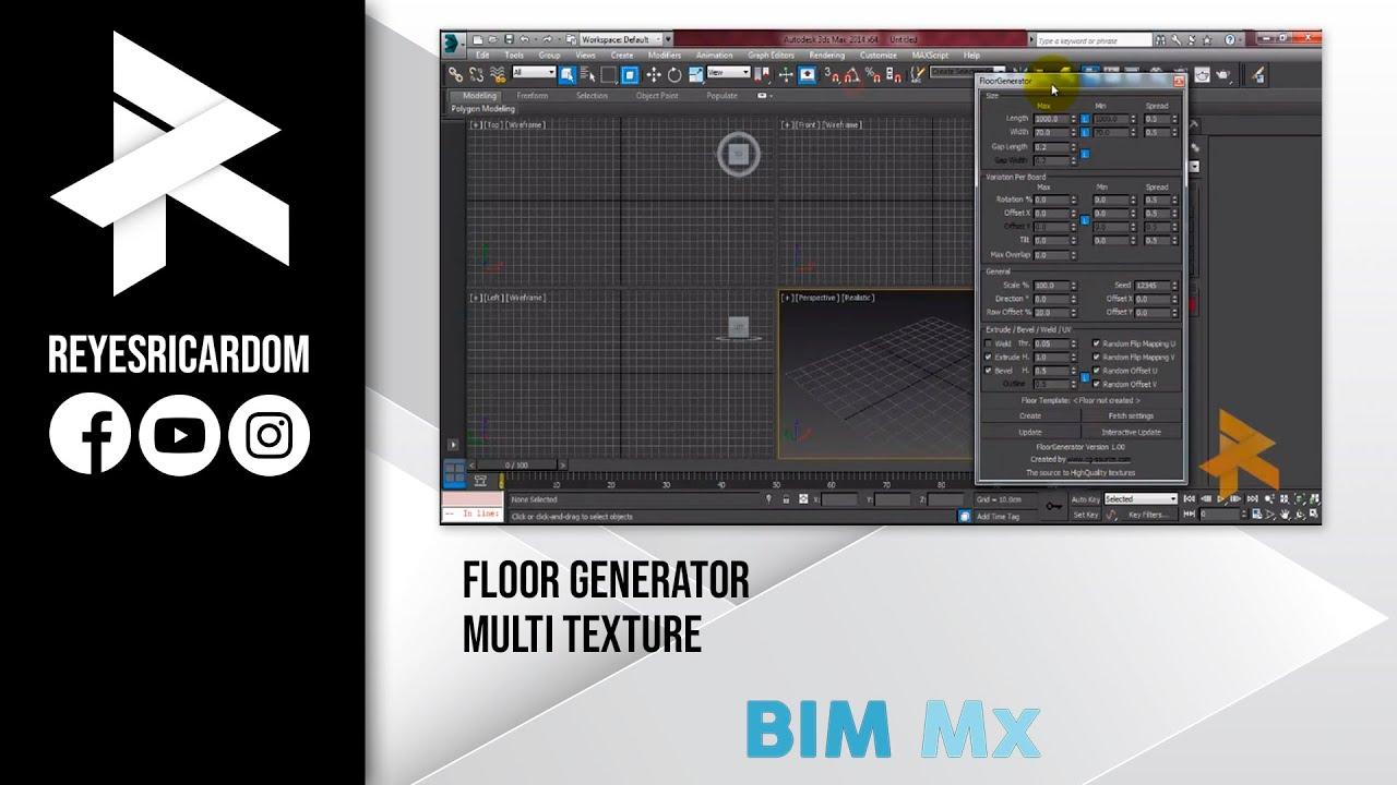 Instalar Floor Generator y Multi texture