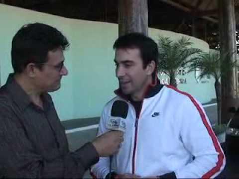 Rápida entrevista com Padre Fábio de Melo dois dias após inauguração do Aeroporto Dragão do Mar em Aracati