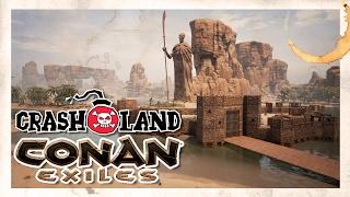 Let's Play Conan Exiles - PC Gameplay Part 12 - The Crew's Finally ...  Conan Exile
