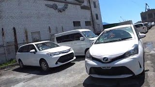 Купил Жене Тойота из Японии! Аукцион авто из Японии, Зеленый угол! Дром Владивосток пробег Дром авто