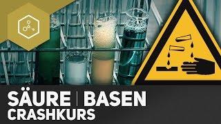 Säure und Base Crashkurs - Komplette Zusammenfassung fürs Chemie-Abi