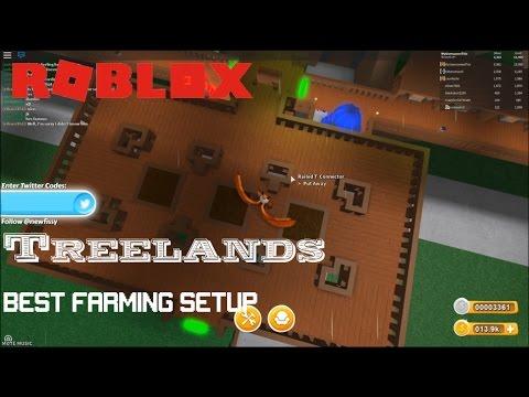 Roblox Treelands Best Farming Growbed Setup By Myusernamesthis