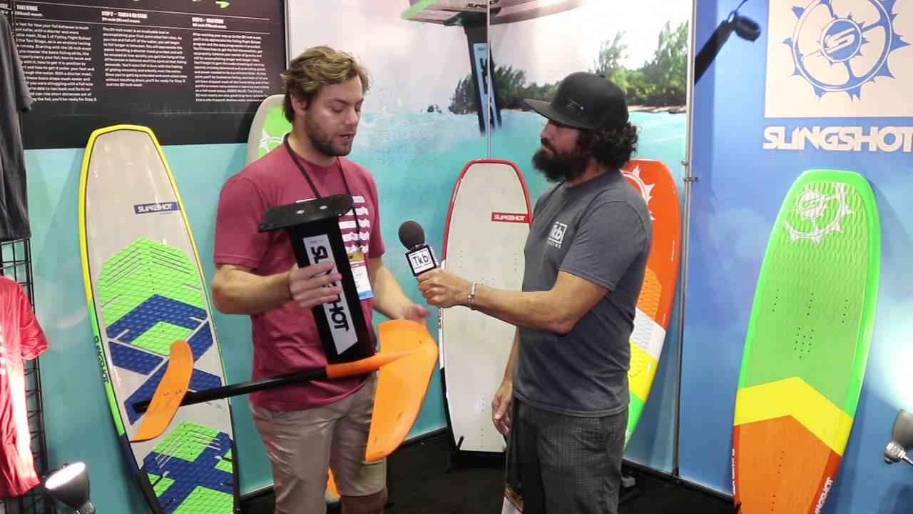 2017 Slingshot Foils at 2016 Surf Expo