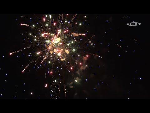 Feuerwerk See in Flammen Mondsee Freizeitpark Pirkau Hohenmölsen
