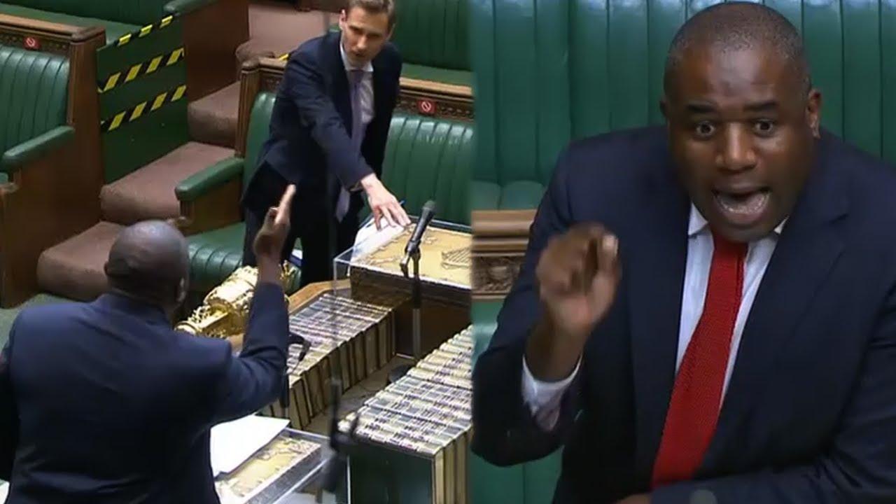 Tories hit back at David Lammy's hypocritical falsehoods