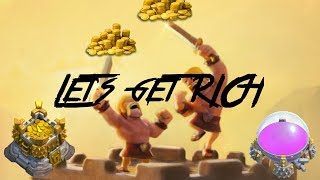 EASIEST & FASTEST way to farm loot: Clash of Clans