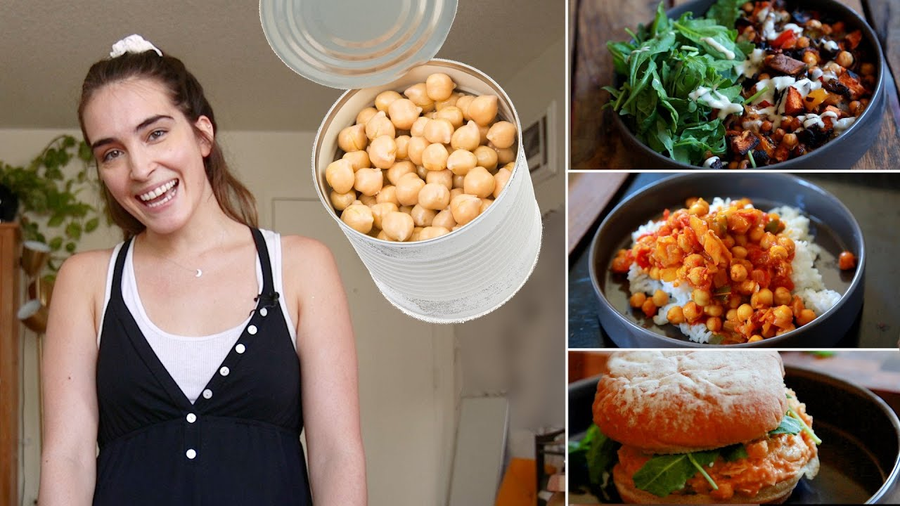 How To Use Chickpeas For Breakfast, Lunch, Dinner, Or Dessert