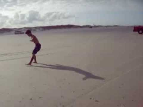 Breakdancing at Huguenot Beach Florida   MP4 360p all devices