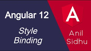Angular 12 tutorial #20 Style Binding | Dynamic Style