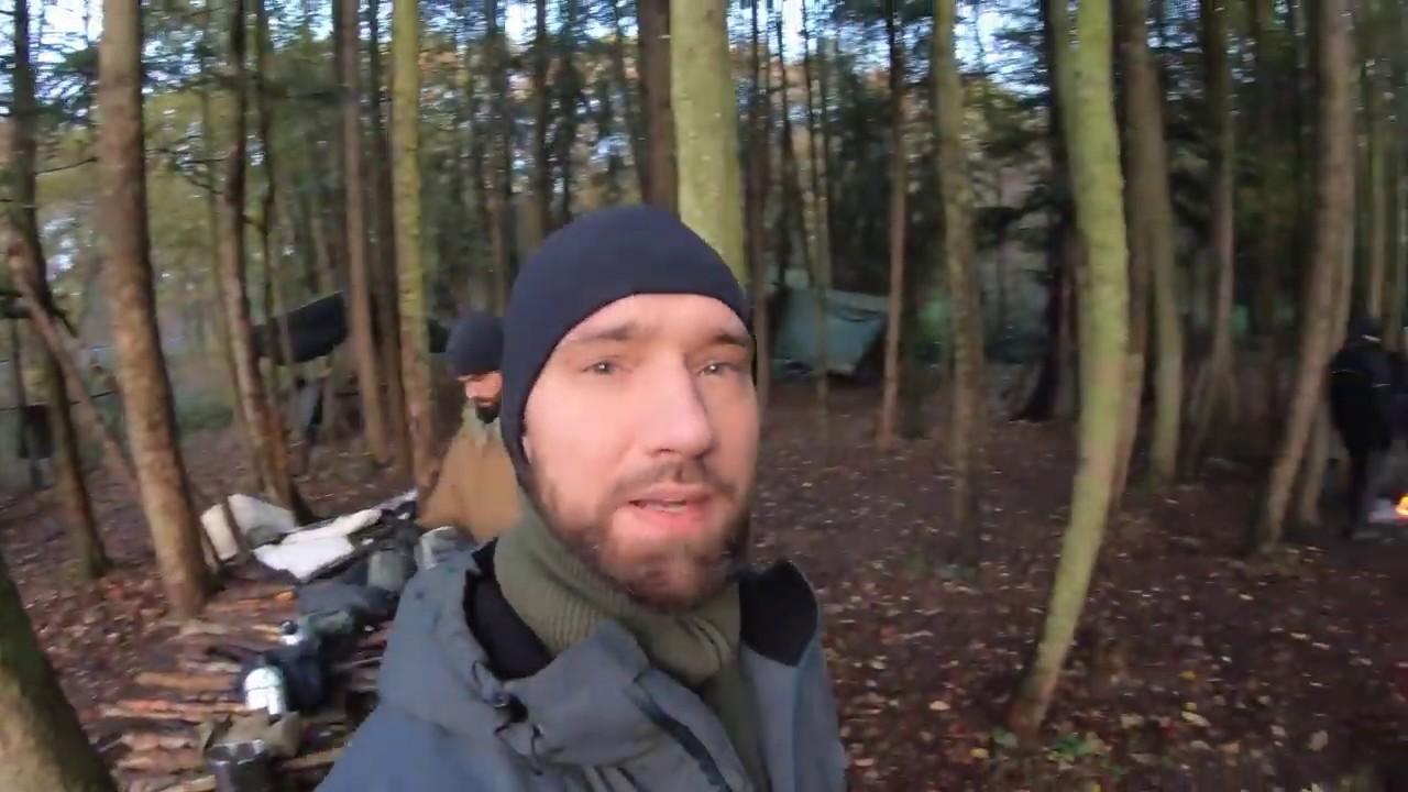 Barfußschuhe Minimalschuhe im Survival Extrem Test Zaqq Vivobarefoot Joe Nimble Dirk unterwegs