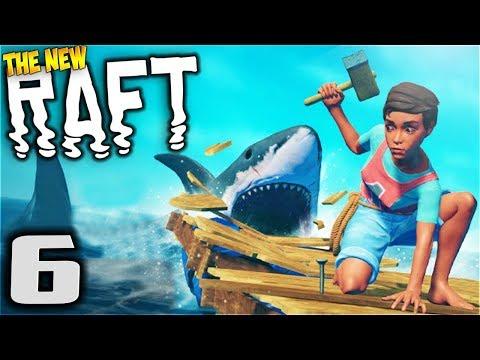 RAFT - Treasures! - Let's Play Raft Multiplayer Gameplay Part 6 (New Multiplayer Raft Survival Game)