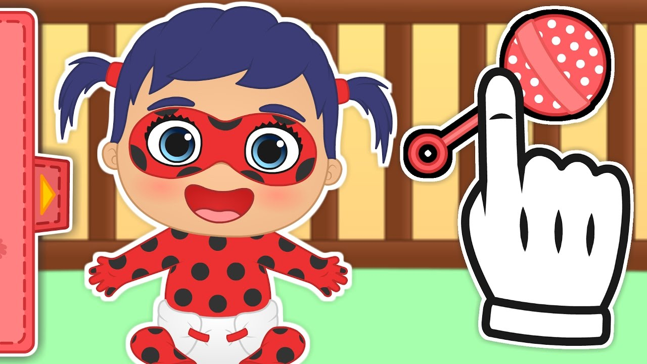 baby-ladybug-gameplay-with-ladybug-and-cat-noir-as-babies-baby-cartoons-gameplays