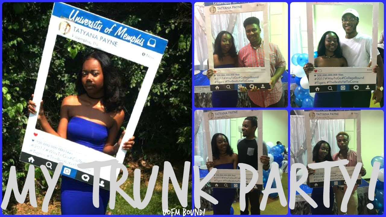 UNIVERSITY OF MEMPHIS TRUNK PARTY MUST WATCH Vlog24