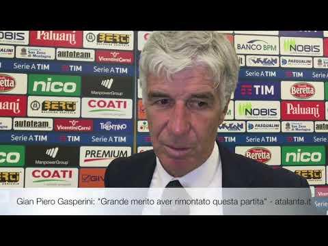"""Gian Piero Gasperini: """"Grande merito aver rimontato questa partita"""""""