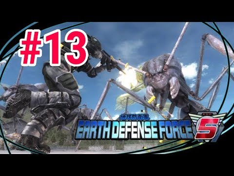 [Episode 13] Earth Defense Force 5 PS4 Gameplay [Surprise Attack At Night!] thumbnail