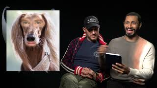 Tom Hardy & Riz Ahmed Are Dog Spotters | Awkward Interview Guy