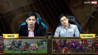 DAC 2018 | Playoffs | Mineski vs VG | Bo 3 - Game 1 | Caster : KAH ft 307