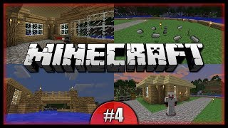 Python Plays Minecraft || Improved Bridge! Iron Heaven! First House! || Minecraft Survival PC [#4]