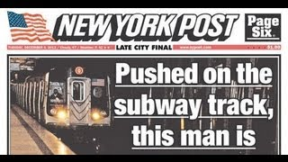 Outrage - NY Post Puts Man About to Die On Cover