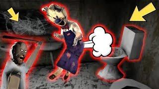 Granny vs Aliashraf funny animation All 45-51 parts : Ice Scream, Mr Meat, Baldi