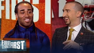 Patriots' Stephon Gilmore talks Super Bowl LIII win, Tom Brady & more   NFL   FIRST THINGS FIRST