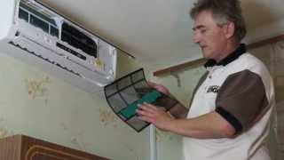 Самостоятельная установка кондиционера: Часть 4(Посмотрев этот ролик вы узнаете как самостоятельно установить кондиционер. В данной части вы увидите как..., 2013-06-17T09:23:19.000Z)