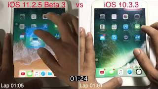 ios 11 2 5 beta 3 vs iOS 10.3.3 Speed test on ipad mini 2 | GeekBench
