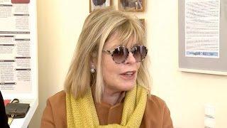 В областной библиотеке прошла творческая встреча с французской писательницей Катрин Панколь