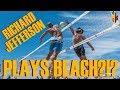 NBA's Richard Jefferson dominates BEACH VOLLEYBALL???