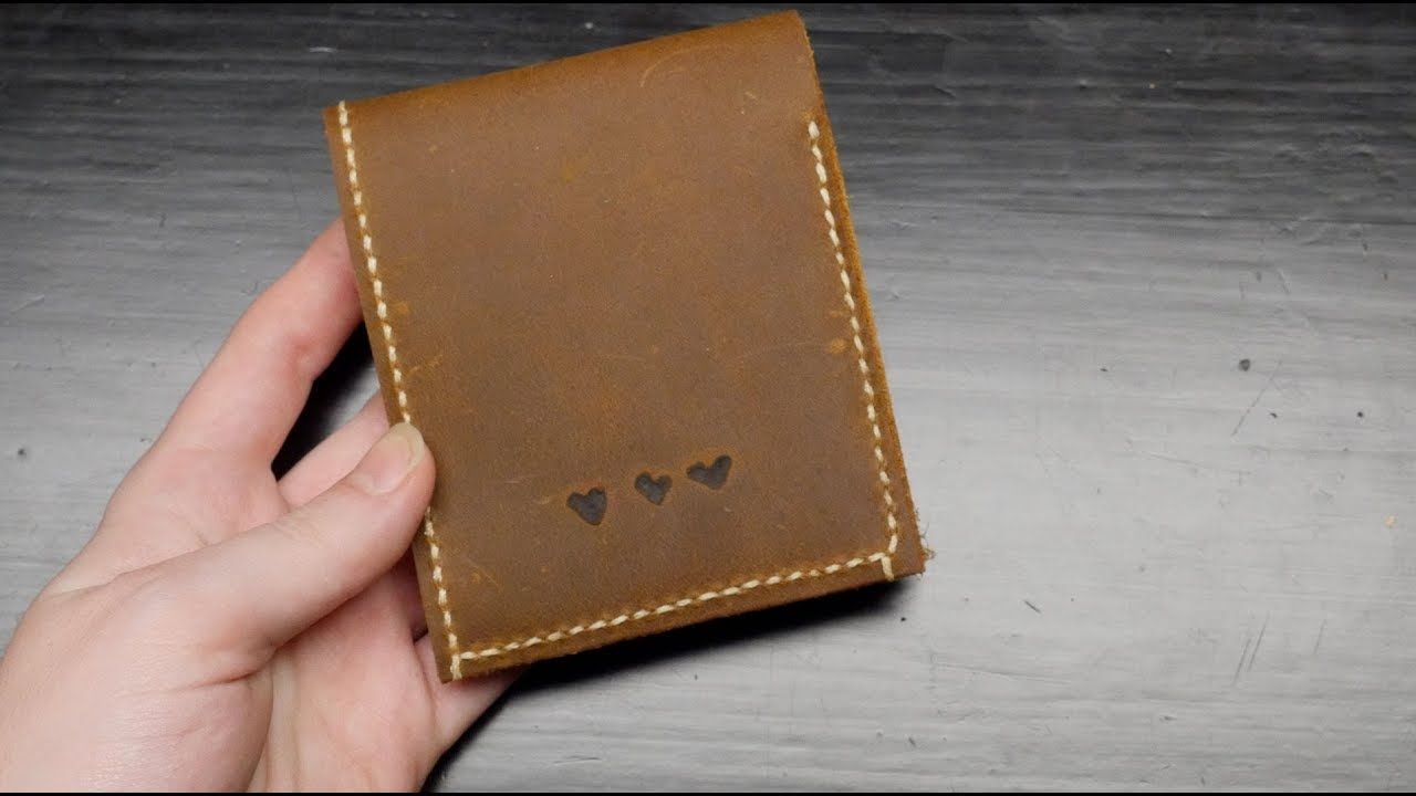 Diy Leather Wallet Becky Stern