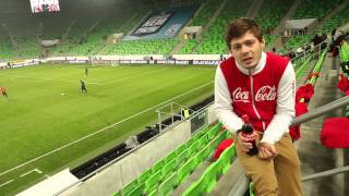 Coca-Cola Мир Футбола! Последний матч сборной России в 2014 году!