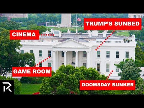 Inside The White House's Secret Rooms