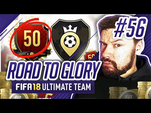 50TH IN THE WORLD SQUAD BATTLES REWARDS! - #FIFA18 Road to Glory! #56 Ultimate Team