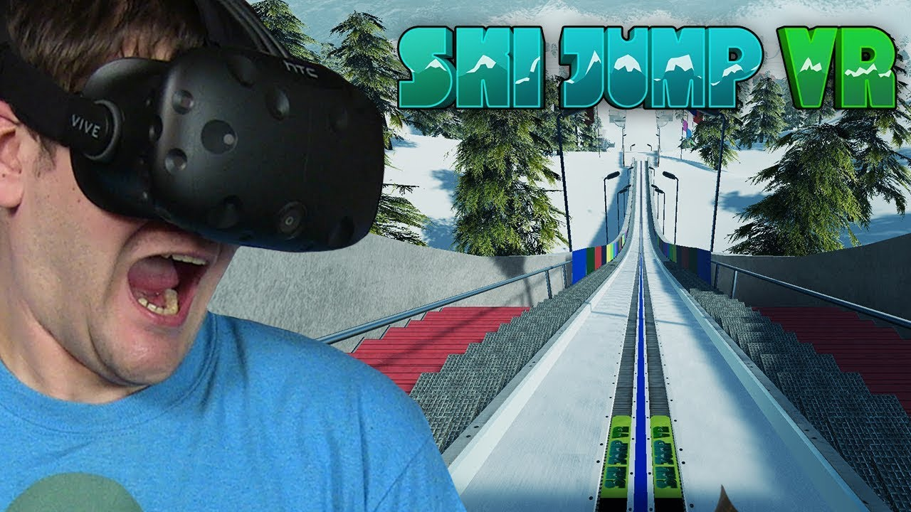 SYMULATOR SKOKÓW NARCIARSKICH – SKI JUMP VR (HTC VIVE VR)