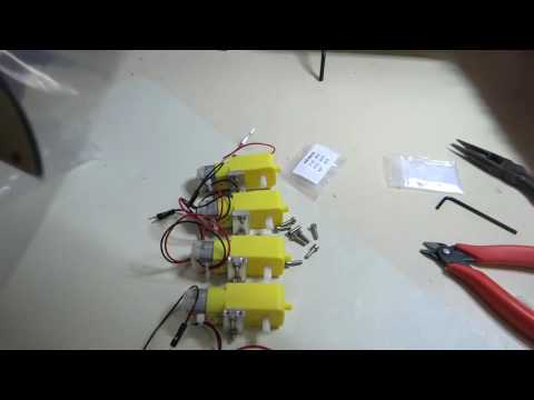 Elegoo Smart Robot Car Part 1 - Construction