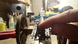 Cannon 1812 scale 1:12 пушка миниатюрная масштаб 1:12