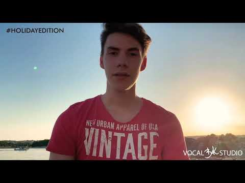 Maybe It's time, Filip Vidušin, COVER (#holidayedition) by VOCAL BK STUDIO (Official video)