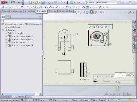 how to change solidworks orientation