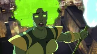 Халк и агенты СМЭШ - Галактус зеленеет - Сезон 1, Серия 15   Marvel