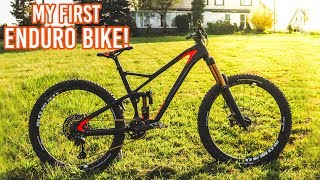 MEIN ERSTES ENDURO BIKE! Bike Build Rose Bikes Pikes Peak 4 EN