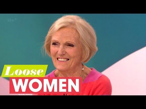 Mary Berry On Baking Cheats And Drinks With Paul | Loose Women
