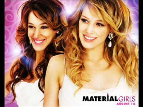 Material Girl Hilary & Haylie Duff lyrics thumbnail