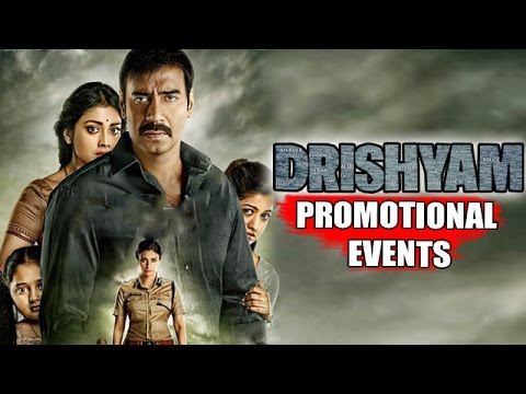 Drishyam Movie 2015 Ajay Devgn Tabu Shriya Saran Uncut Promotional Events