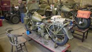 Harley Davidson WLC time-lapse restoration